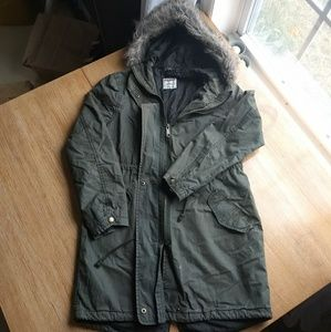 Old navy green jacket